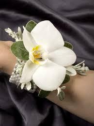 white orchid corsage white orchid corsage stunning wrist corsage