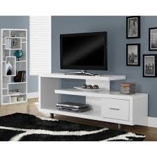 tv stands small white tv stand with baskets fireplace shelf for