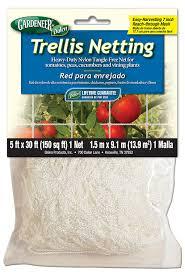amazon com gardeneer by dalen trellis netting heavy duty nylon