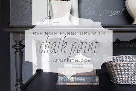 Chalk Paint Furniture Images by Refinishing Furniture With Chalk Paint Tutorial Youtube