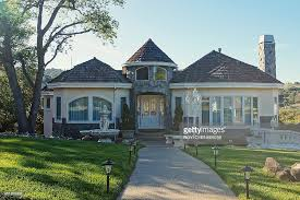 house with tower american suburban houses pictures getty images
