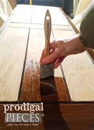 staining a table top staining coffee table top prodigal pieces