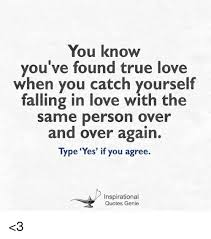 Inspirational Love Memes - 25 best memes about falling in love with the same person