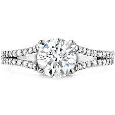 split band engagement rings felicity split shank engagement ring