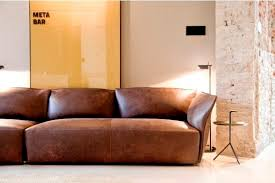 Modular Sofa  Contemporary  Leather  Seater NEST By - Contemporary design sofa