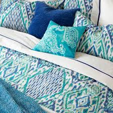 ikat print bed linen ikat print linen bedroom and ikat