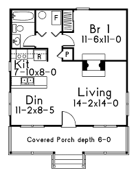 dogwood cabin home plan 058d 0010 house plans and more