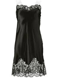givenchy tech accessories givenchy lace trimmed slip dress