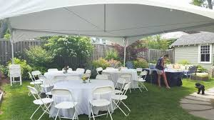 40 person tent package backyard tent rental