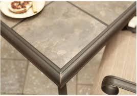 ceramic tile top patio table ceramic tile patio table dining room ceramic tile top dining table