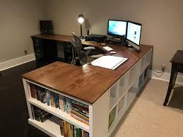 how to build a corner bookcase 23 diy computer desk ideas that make more spirit work desks
