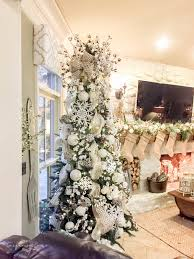gorgeous winter tree with cotton bolls and