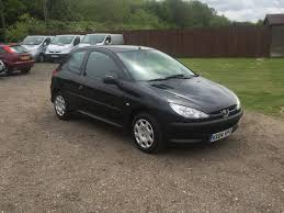 peugeot black peugeot 206 1 4 hdi zest 04 reg sold ymark vehicle services