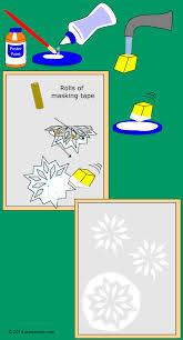 how to stencil snowflakes on windows friday fun aunt annie u0027s