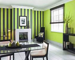 interior painting dining room with stripes walls interior