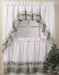 white kitchen curtains white kitchen curtains u0026 drapes blue