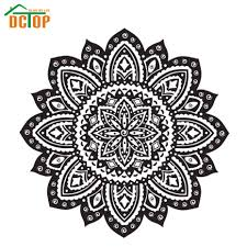 Home Decor Sale Sale Mandala Wall Stickers Home Decor Indian Lotus Flowers
