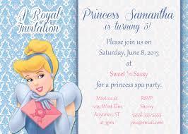 cinderella birthday invitations u2013 gangcraft net