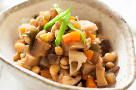 Freezing Root Vegetables - gomoku mame simmered soybeans with vegetables recipetin japan