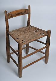 Shaker Dining Chair Antique Kentucky Shaker Dining Chair Low Back Split Hickory On