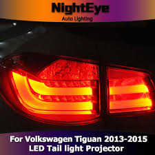 tiguan volkswagen lights nighteye vw tiguan tail lights 2013 2015 new tiguan led tail light