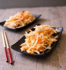 cuisiner du choux blanc salade de chou et carotte à la japonaise les meilleures recettes