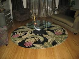 Round Tropical Area Rugs Area Rugs Tableaux Affordable Free Design Appt Tampa Florida