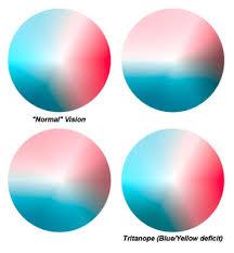 Blue Yellow Color Blind Art U0026 Design Teaching Crude Colour Blindness Indicator