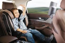 siege de bebe siège de voiture de luxe de bébé pour la sécurité image stock