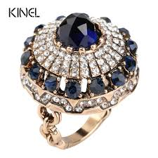 stone rings images Hot 2017 luxury big natural stone ring vintage crystal antique jpg