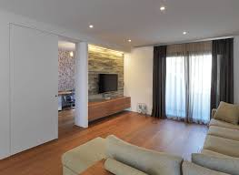 living room wonderful white brown wood glass luxury design wall