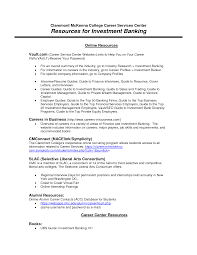 Sample Resume For Finance Top Essay Writing Application Letter For Bank Internship