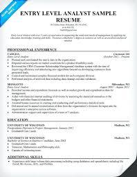 sample resume of financial analyst sample resume sample resume