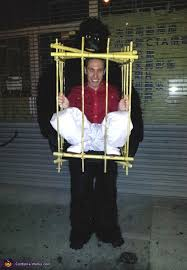 Gorilla Halloween Costumes Gorilla Man Cage Diy Halloween Costume
