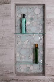 bathroom shower porcelain river marble 12x24 silver springs niche
