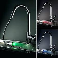 led kitchen faucets led kitchen faucet misschay
