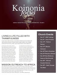 beautiful edit ready church newsletters and newsletter templates
