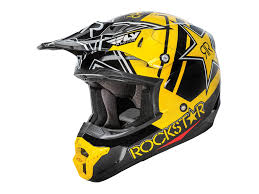 motocross gear perth fly kinetic rockstar helmet the honda shop