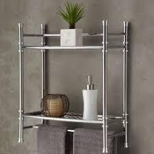 Wrought Iron Bathroom Shelves Bathroom Organization U0026 Shelving Shop The Best Deals For Nov