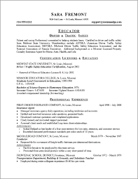Higher Education Resume Example About Resume Writing Services For Higher Education