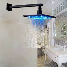 bathroom small shower room design with rainfall shower head and
