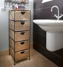 Storage Units Bathroom Bathroom Storage Cabinet With Drawers Zenith Interiors Bathroom
