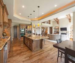 open floor plan living room and kitchen open floor plan kitchen living room dining room kitchen family