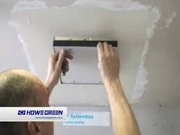 fitting access panel into plasterboard ceiling hinged removable