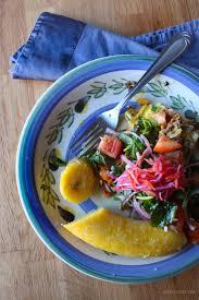 cuisiner banane omelette au hareng fumé avec des bananes plantains mûres kedny cuisine