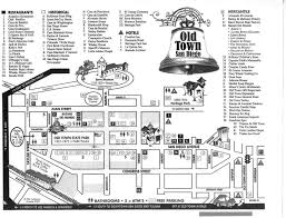 San Diego Terminal Map by Old Town Map Old Town San Diego Ca U2022 Mappery