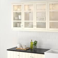 ikea white kitchen cabinet doors hittarp glass door white 15x30