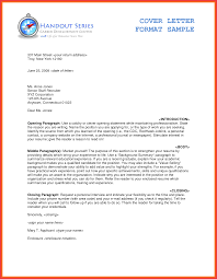 formal cover letter sample memo example