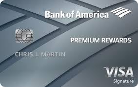 Bank Of America Design Cards Bank Of America Introduces New Premium Rewards Credit Card Bank