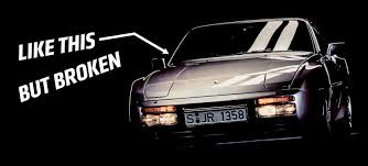 944 porsche turbo why the hell did i just buy a broken porsche 944 turbo